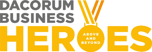 Dacorum Business Heroes logo