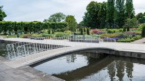 Water Gardens Bridge and Terrace